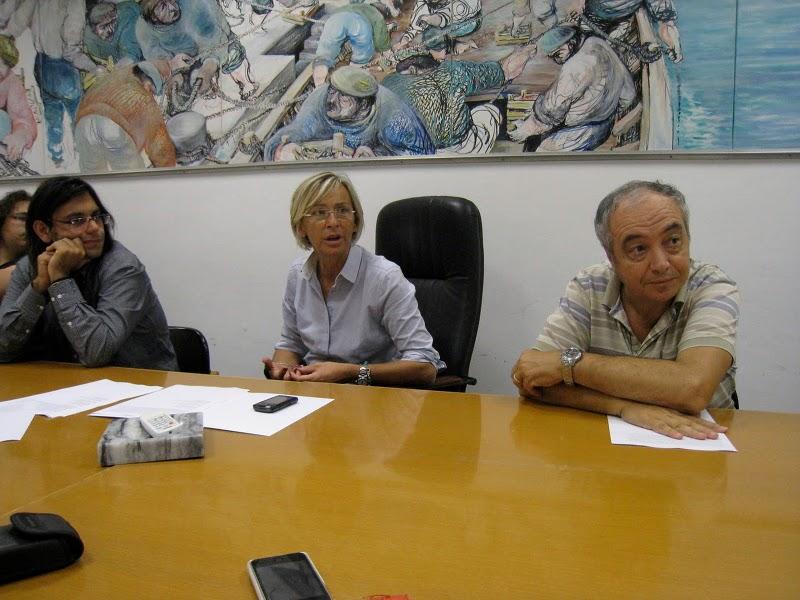 Da sinistra: Umberto Croci, Margherita Sorge, Enrico Perotti