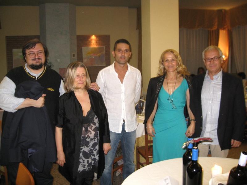 Da sinistra, Tommaso Lucchetti, Ermetina mira, Romeo Menzietti, Maria Elma Grelli e Andrea Anselmi
