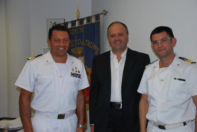 Gaspari con Di Guardo e Castaldo