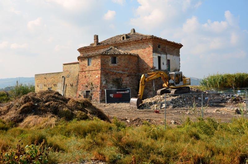 Lavori di ristrutturazione della Torre sul Porto