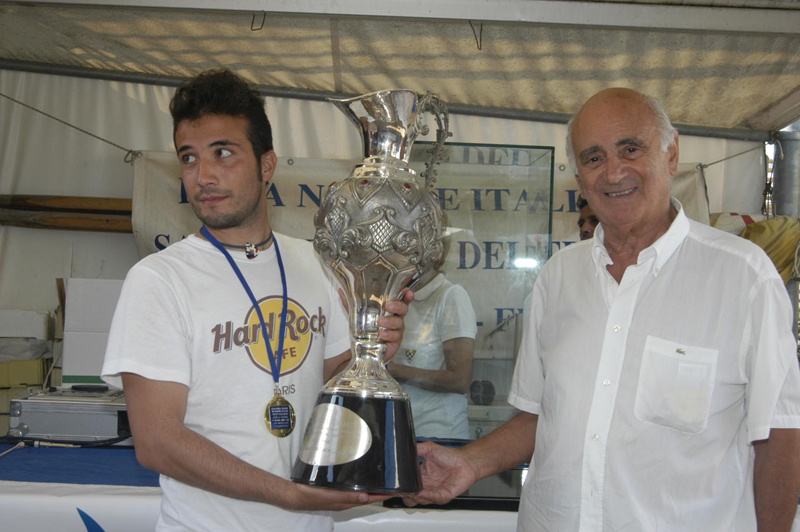 Il vincitore del trofeo Jack La Bolina Andrea Ferracuti