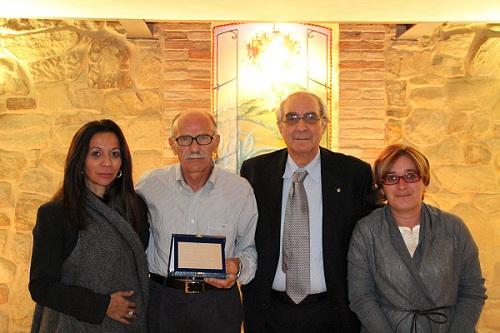 La famiglia Alexis con Luigi Ripani