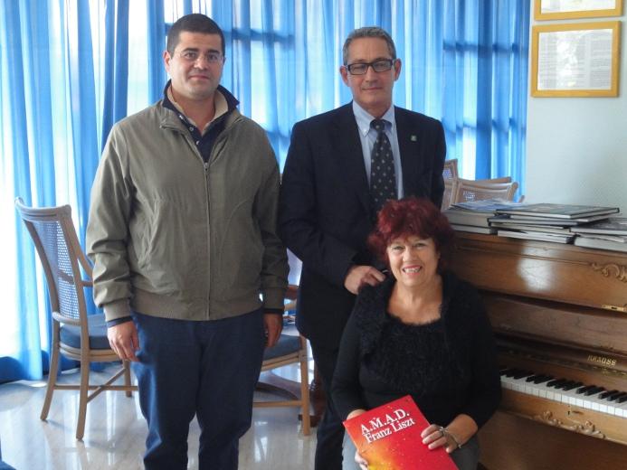 Daniele Voltattorni, Guido D'Alessandri e Graziella Castelletti