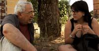 Alberto Franceschini e Roberta Peci durante le scene tratte dal documentario