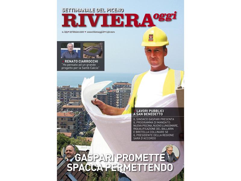 La copertina di Riviera Oggi 893