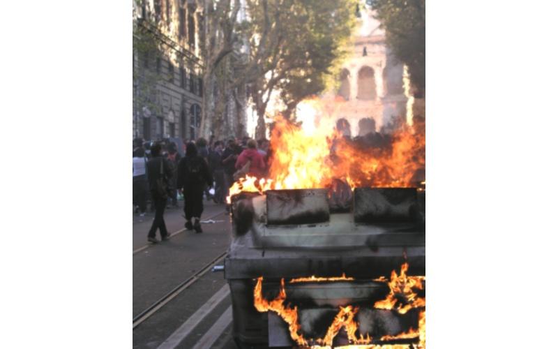 Manifestazione a Roma (foto di Francesco Milanaccio) 2