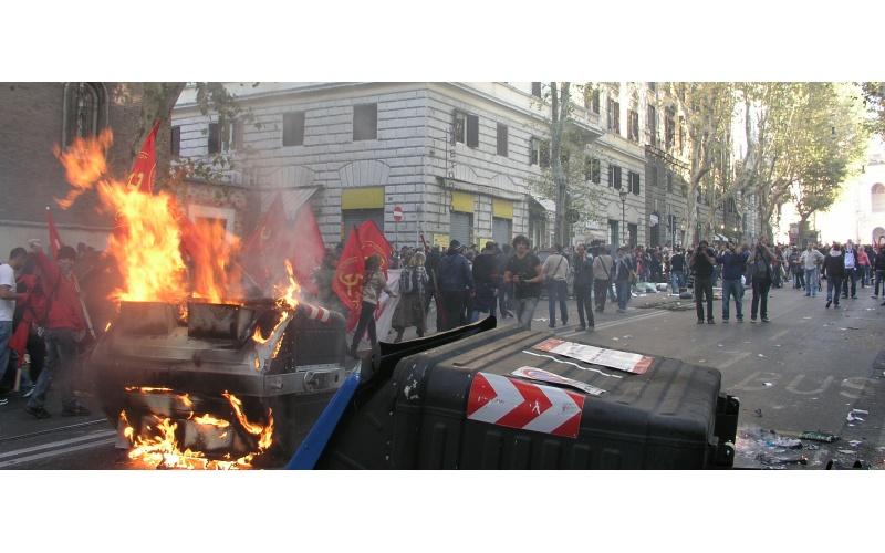 Manifestazione a Roma (foto di Francesco Milanaccio) 3