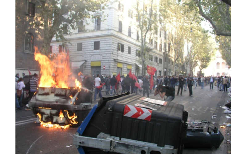 Manifestazione a Roma (foto di Francesco Milanaccio) 4