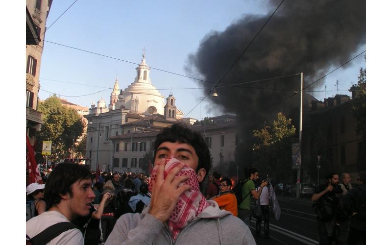 Manifestazione a Roma (foto di Francesco Milanaccio) 6