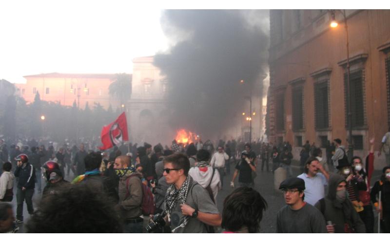 Manifestazione a Roma (foto di Francesco Milanaccio) 7