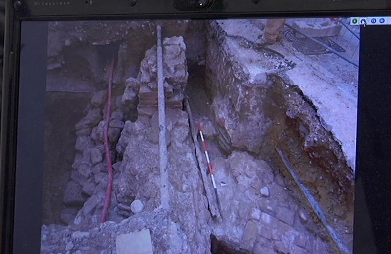 Reperti archeologici al Paese Alto