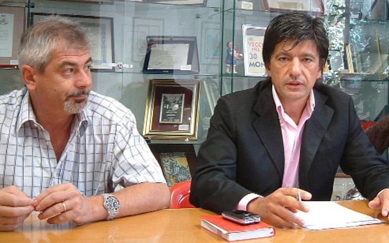 Sergio Pezzuoli e Silvano Evangelisti