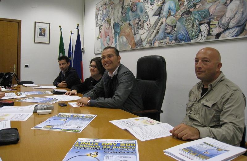 Da sinistra: Alessandro Amadio, Giacomo Antonini, Marco Curzi, Emidio Di Gaspare