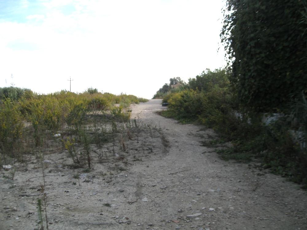 La bretella stradale di Centobuchi come si presenta oggi