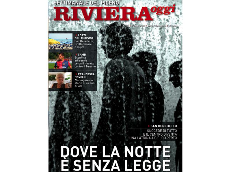 La copertina di Riviera Oggi 890