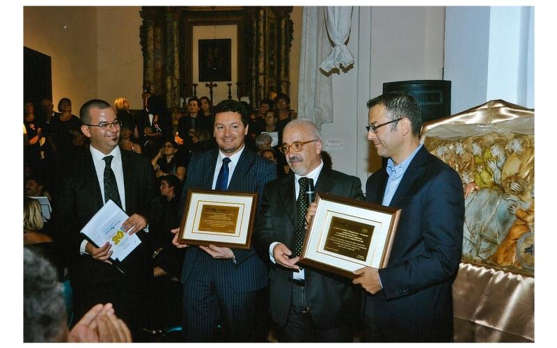 Il Presidente Francesco Massi ringrazia i sindaci di Cossignano e Ripatransone in occasione del 20°
