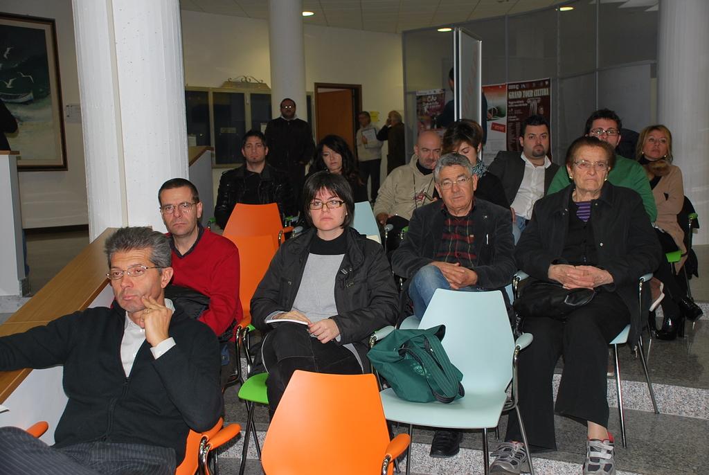 Alcuni dei presenti alla giornata della partecipazione, 19 novembre 2