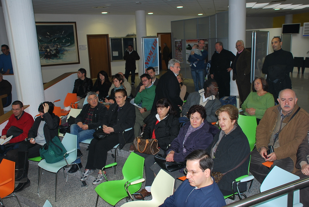 Alcuni dei presenti alla giornata della partecipazione, 19 novembre 3