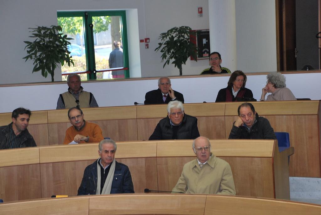 Alcuni dei presenti alla giornata della partecipazione, 19 novembre 4