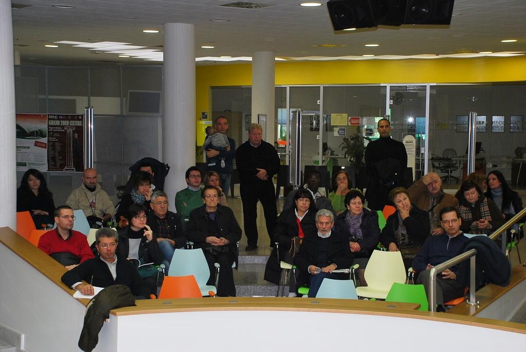 Alcuni dei presenti alla giornata della partecipazione, 19 novembre 5