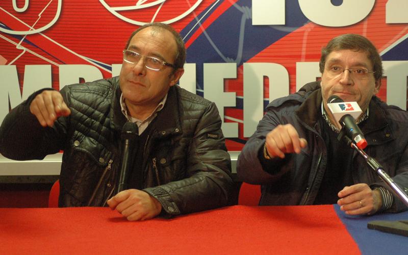 Bartolomei e Pignotti sembrano chiedere... una mano (ph. Giammusso)