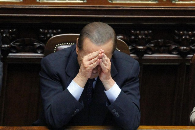 Berlusconi, the end