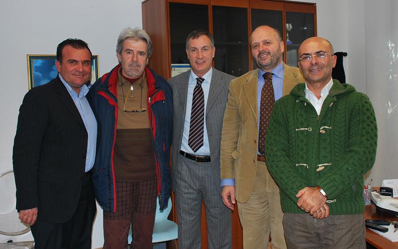 Cristian Di Mattia, Umberto Silenzi, Mauro Calvaresi, Giovanni Gaspari, Paolo Cesaretti
