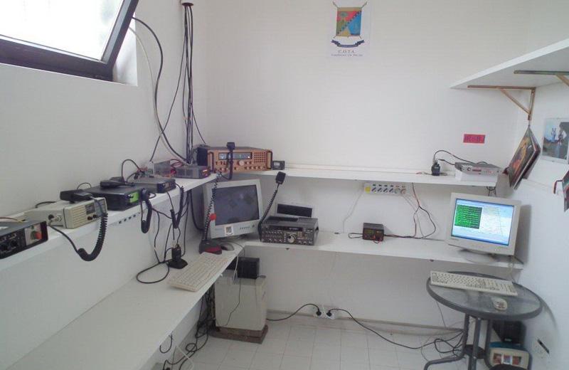 La nuova sala radio del Cota inaugurata ad Ancarano