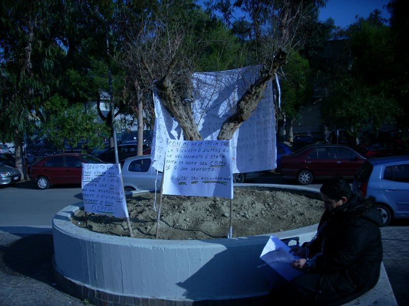 La protesta di Luisa Scannapieco