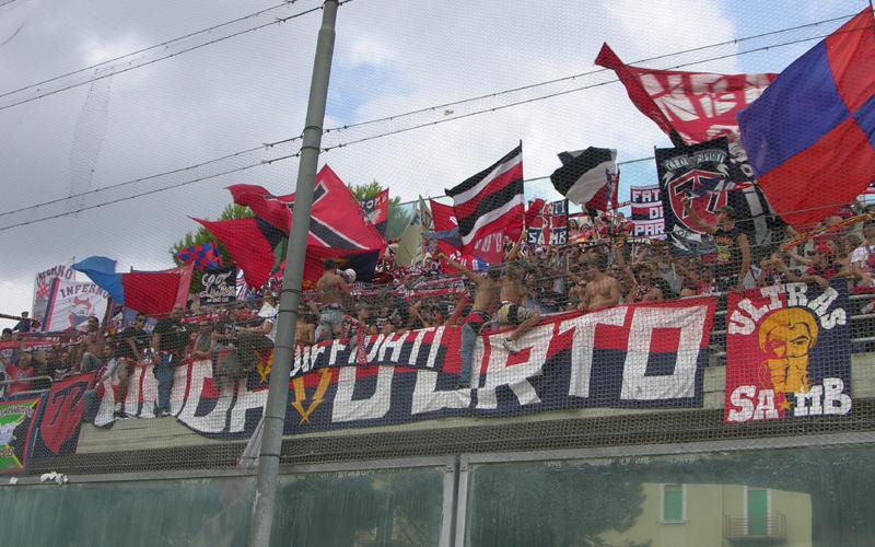 Foggia-Samb 0-1, tifosi rossoblu2 (ph. Danilo Di Salvatore)