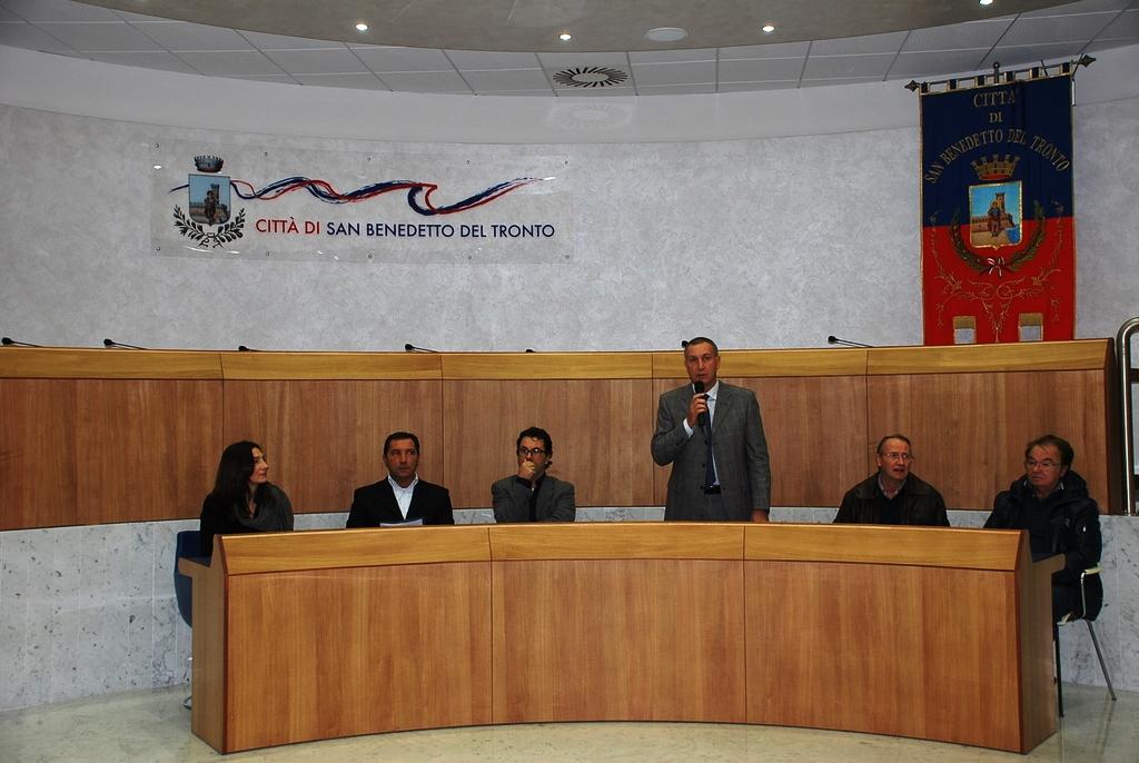 Giornata della partecipazione, 19 novembre, tra gli altri Luca Spadoni e Marco Calvaresi