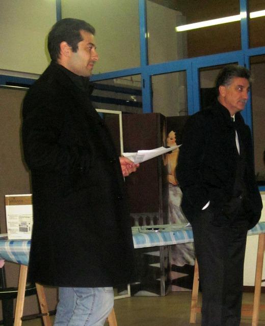 Da sinistra: Alessandro Rocchi, Luigi Merli