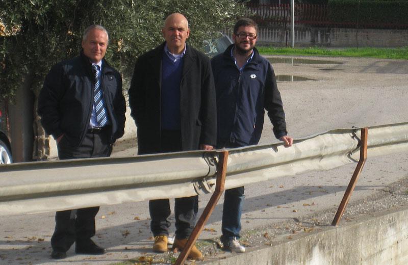 Romano Antonini, Mauro Paci e Giuseppe Capriotti