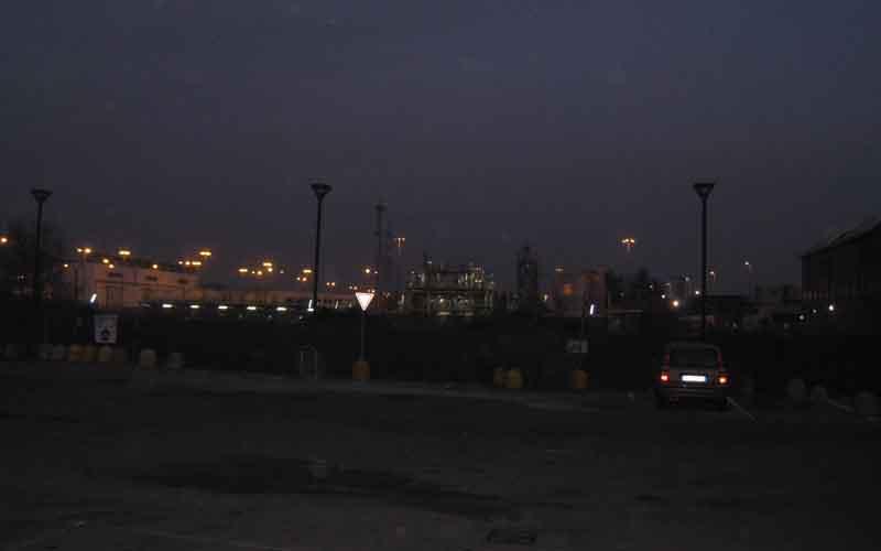 La centrale di stoccaggio gas Stogit a Cinisello Balsamo