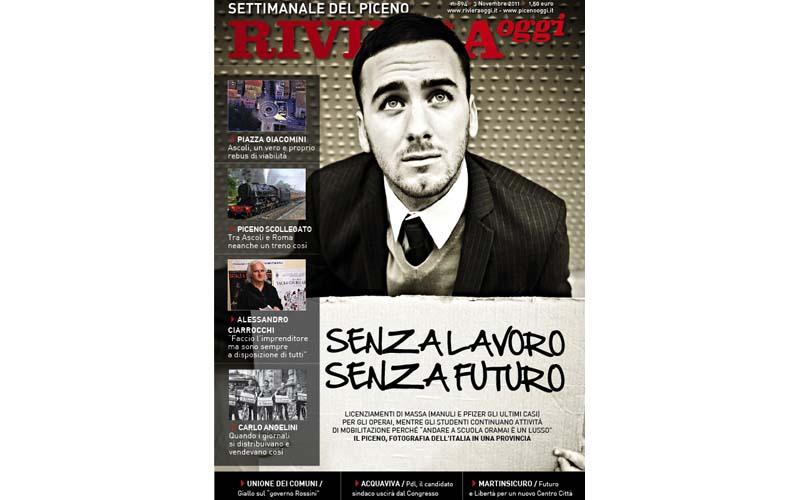 La copertina di Riviera Oggi numero 894