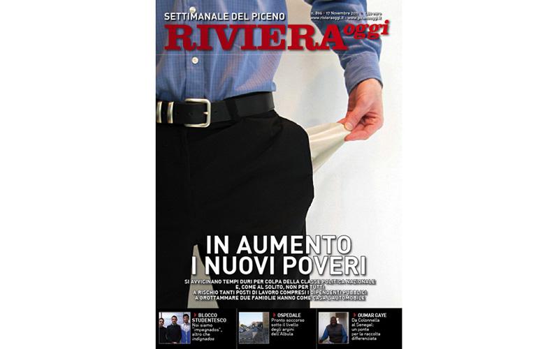 La copertina di Riviera Oggi numero 896