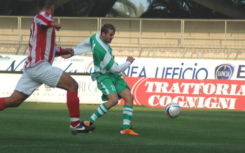 Samb-Real Rimini, Voinea realizza l'1-0