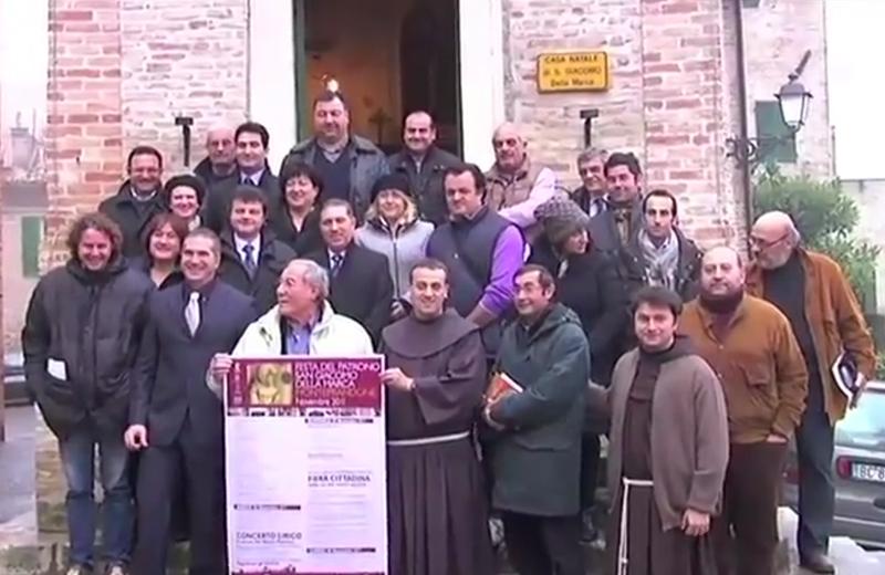 San Giacomo della Marca, foto di gruppo durante la presentazione della manifestazione