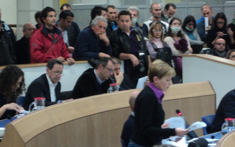 Stoccaggio gas, Maria Rosa Ferritto durante il consiglio delle mascherine