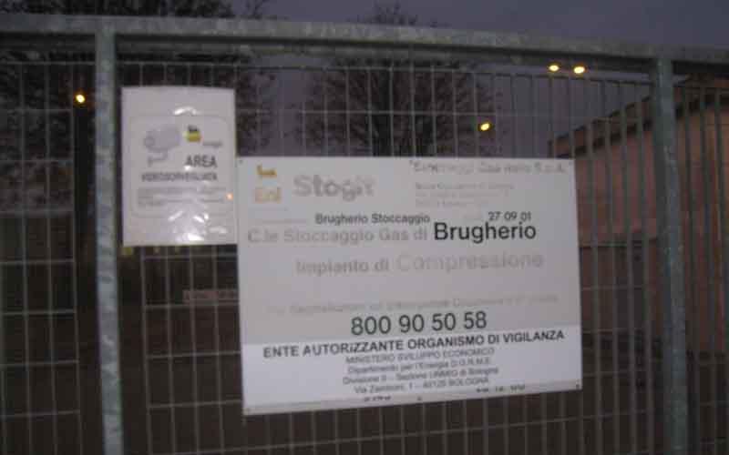 Stogit, la centrale di stoccaggio a Cinisello Balsamo 2pg