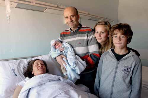 Il vicesindaco Fanini e la sua famiglia