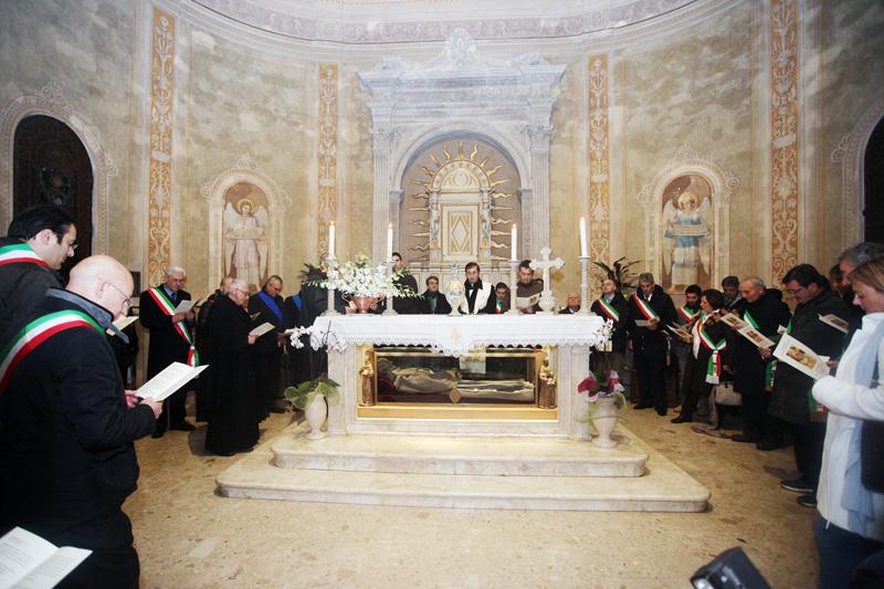 Sindaci riuniti presso il Santuario di San Giacomo