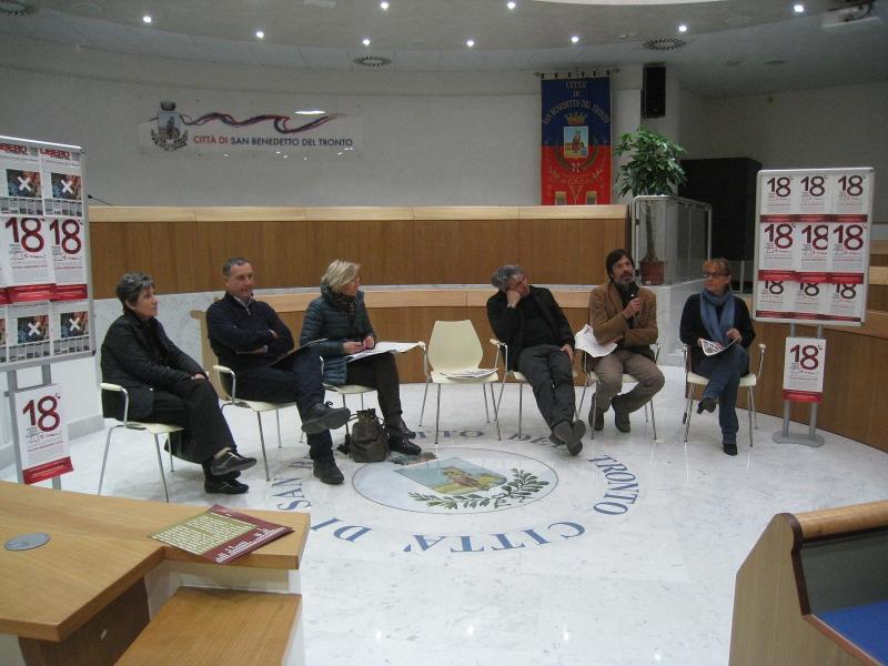 Da sinistra: Maria Pia Silla, Marco Calvaresi, Margherita Sorge, Enzo Eusebi, Fabrizio Pesiri, Flavia Mandrelli