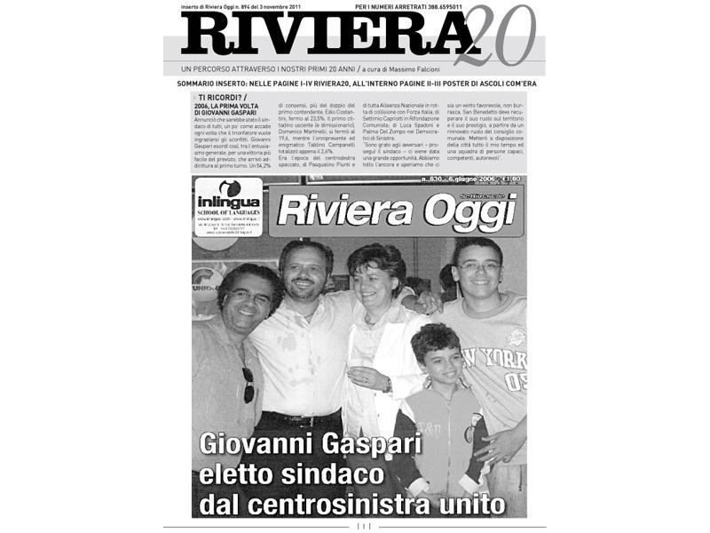 RivieraVenti, copertina n.894