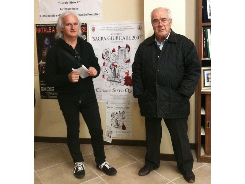 Alessandro Ciarrocchi e Mario Petrelli
