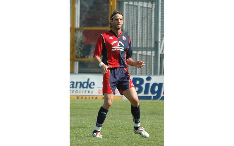 Alessandro Zamperini durante Samb-Genoa del 2006 (ph. Troiani)