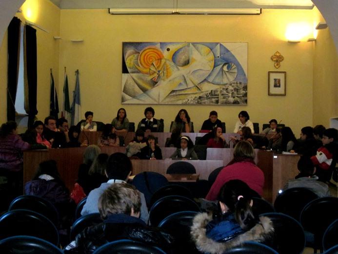 Consiglio Comunale dei ragazzi anno scolastico 2011 2012