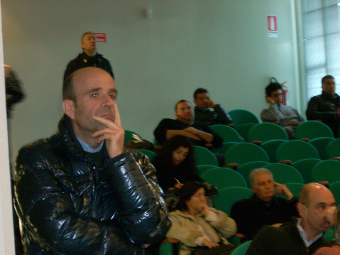 Gas, incontro in Auditorium