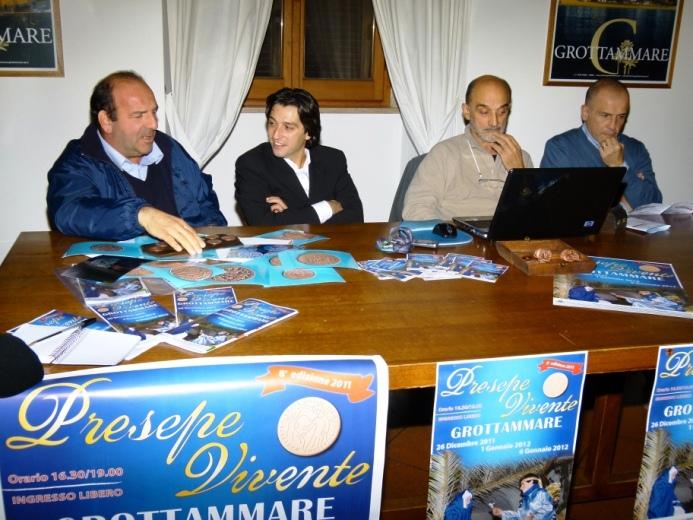 Da ninistra: Fabrizio Rosati, Enrico Piergallini, Paolo Rosati, Ugo lisciani