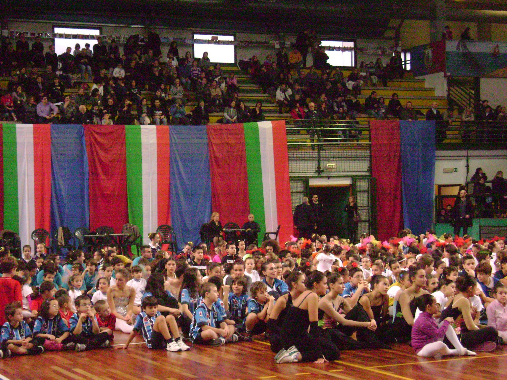 Una foto tratta dalla festa dello sport 2011